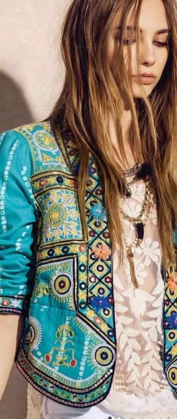 МОДНИЦАМ. Декорирование одежды тесьмой