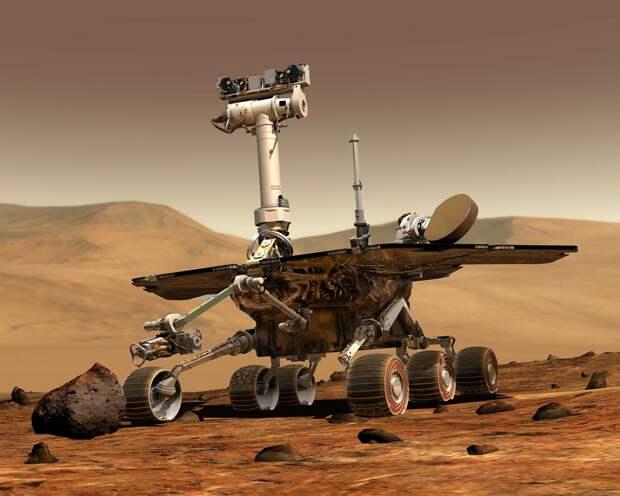 Китайский марсоход совершил посадку на красную планету