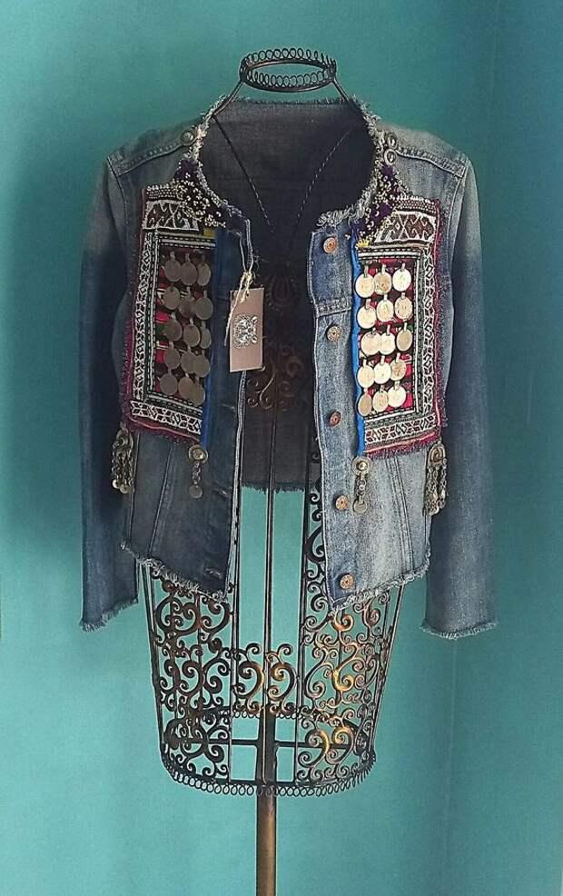 Переделка джинсовок