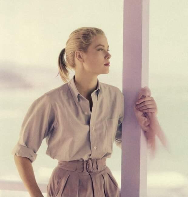 Грейс Келли в фотосессии 1955 года