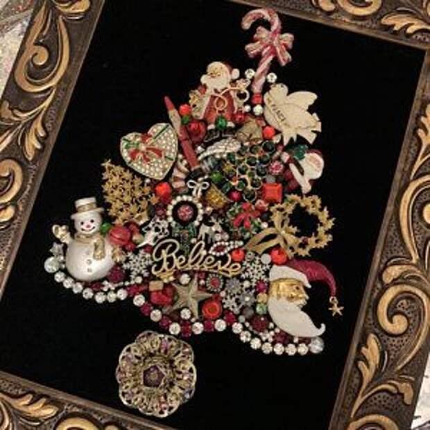 Драгоценные Ёлки для коллекционеров украшений (подборка)