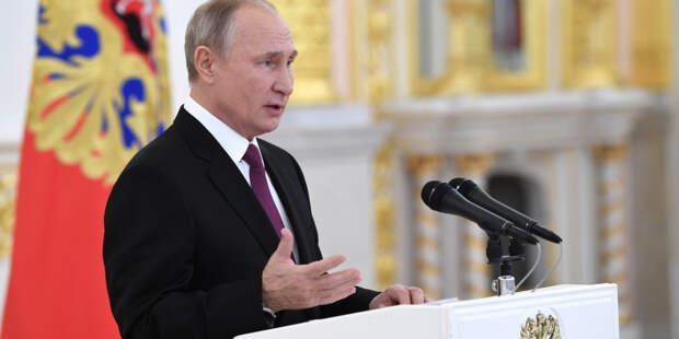 Путин поблагодарил «Волонтеров Победы» за поддержку ветеранов