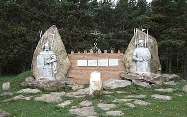 Ознаменованная славой отчаянной битва. Русские 300 спартанцев.