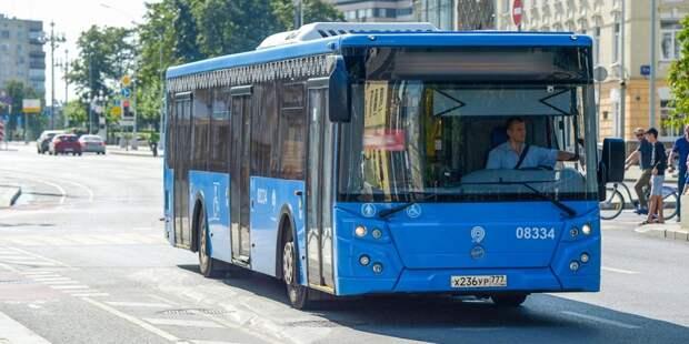 Проходящий через Ростокино автобусный маршрут № н6 изменит путь следования в праздничные дни