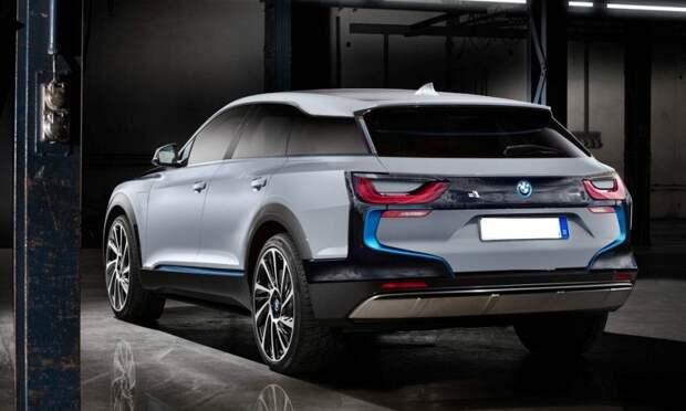 В 2021 году BMW презентует электрокроссовер i5