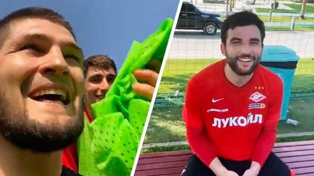 «30:0». Джикия — о победе Хабиба над игроками «Спартака»
