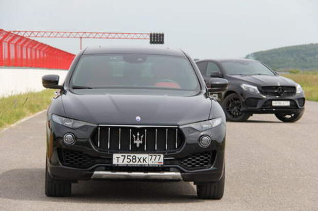 Mercedes-AMG GLE 43 – Maserati Levante: трезубец показывает зубы