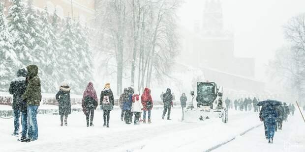 Жительница пожаловалась на плохую уборку снега в Марфине