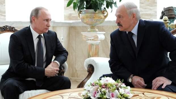 Лукашенко привез Путину гостинцы из Белоруссии