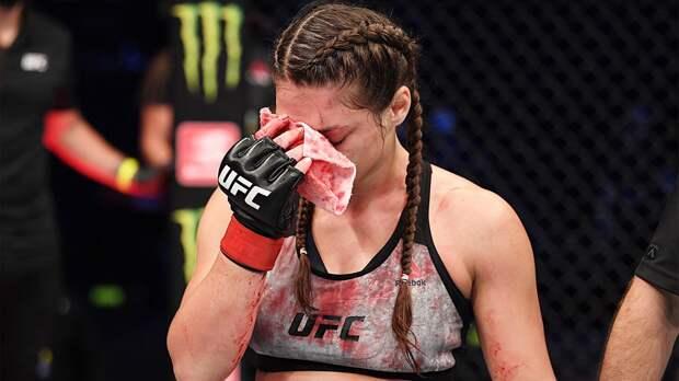 Джоджуа, получившая рассечение носа от Маверик на UFC 254, может пропустить до полугода