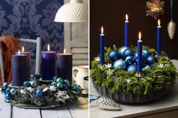 Мерцающие свечи по праву считаются незаменимым элементом новогоднего дизайна