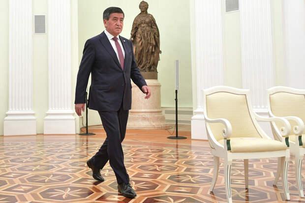 Президент Киргизии ушёл в отставку