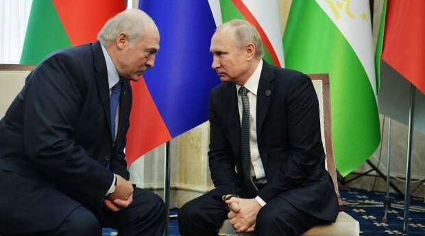 Лукашенко иПутин констатировали прогресс винтеграции двух стран