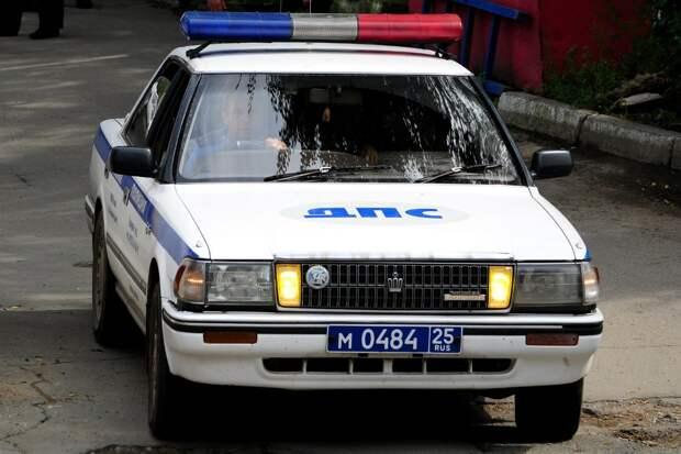 Необычные автомобили на службе региональных подразделений ГАИ 90-ых.