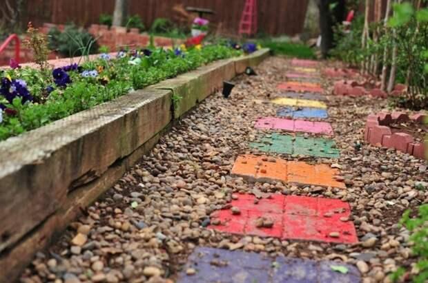 Красивый декоративный элемент для сада своими руками