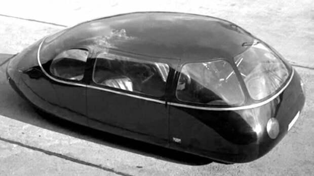 Аэродинамический 38-сильный автомобиль Schlörwagen конструкции Карла Шлёра авто, автомобили, атодизайн, дизайн, интересный автомобили, олдтаймер, ретро авто, фургон