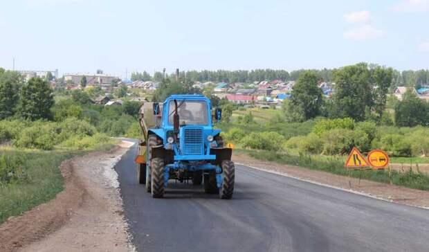 Первые 1,5 км сельских дорог готовы к сдаче в Удмуртии