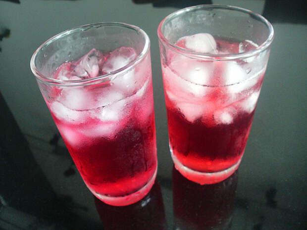 Клюквенный сок полезен для здоровья