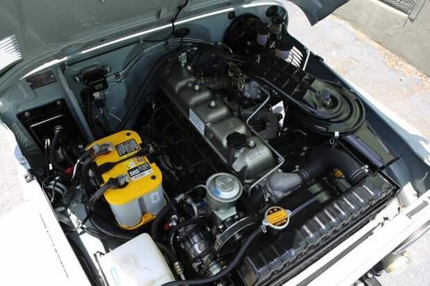 Мотор 2F toyota, toyota land cruiser, авто, автомир, автомобили, олдтаймер, реставрация