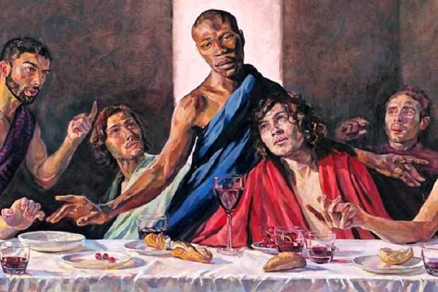 В британском соборе теперь толерантный вариант «Тайной вечери»