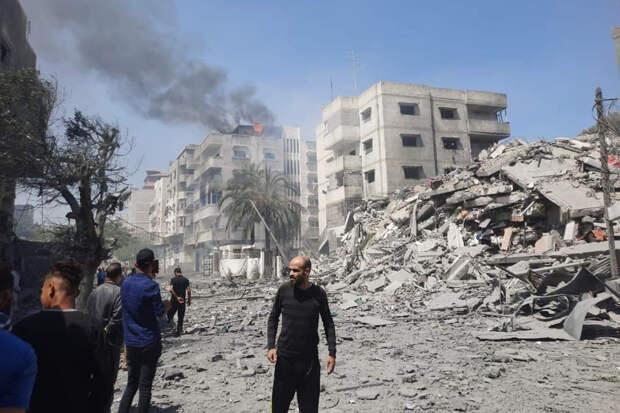 Палестина заявила о разрушении здания Минтруда из-за удара Израиля