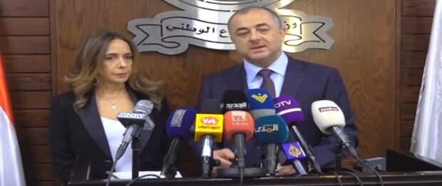 Зейна Адра, министр обороны Ливана