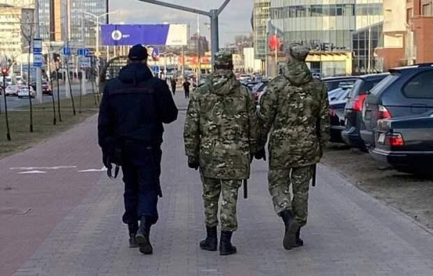МВД Белоруссии: Дополнительных мер из-за попытки госпереворота невводилось