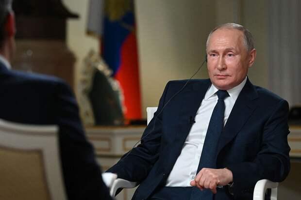 Преемник, оппозиция и Байден. Основные тезисы интервью Путина NBC