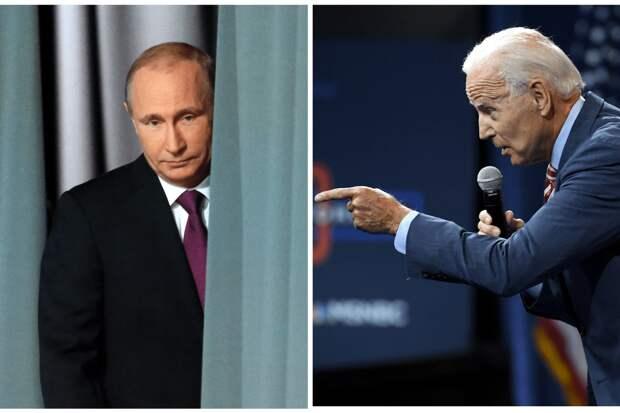 «Москва обозначит Байдену «красные линии», при пересечении которых она будет действовать в Малороссии»