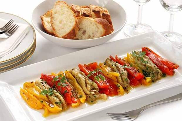 Жареные овощи по-каталонски