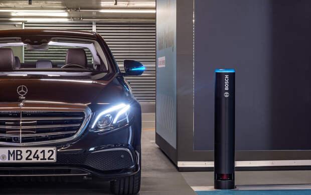 В гараж без водителя: в Германии разрешили создать первую полностью автономную парковку