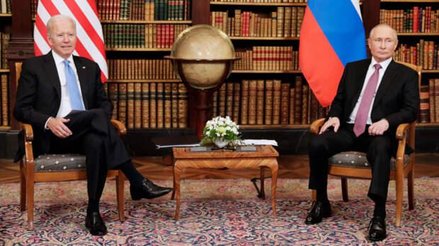 Путин и Байден начали встречу в Женеве