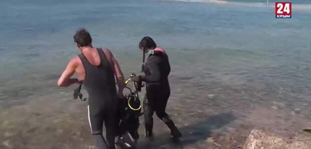В Керчи водолазы обнаружили остатки деревянного парусного судна