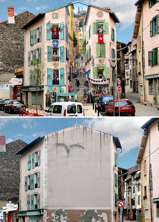 Граффити «Ренессанс».