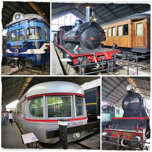 Железнодорожный Музей Мадрида