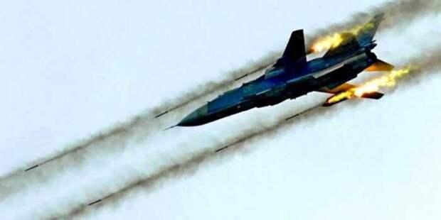 Су-24 ВКС РФ разбомбили ещё один лагерь турецких джихадистов
