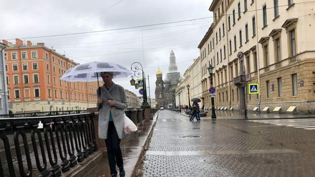 Суточный рекорд по количеству осадков обновился в Петербурге