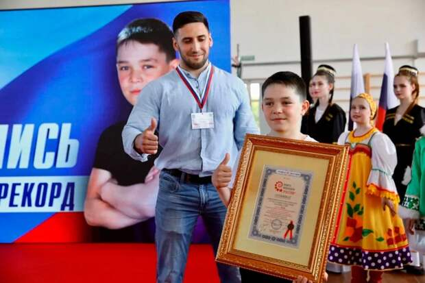 Третьеклассник в России отжался 5713 раз и установил мировой рекорд