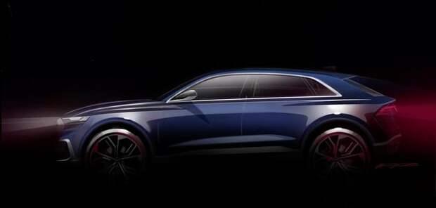 Топ-модель с секретом: Audi покажет кроссовер Q8 в Детройте