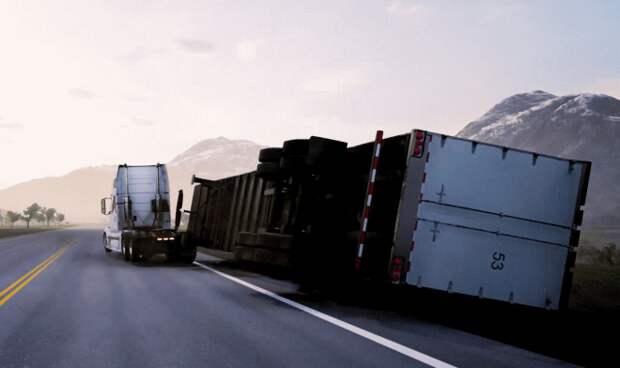 Умный автосброс спасет тысячи водителей грузовиков при опрокидывании прицепа