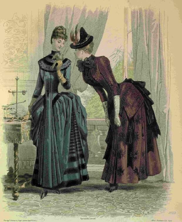 Наряды для загородной жизни. 19 век