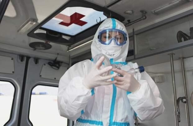 В России выявили 8 915 новых случаев заражения CОVID-19