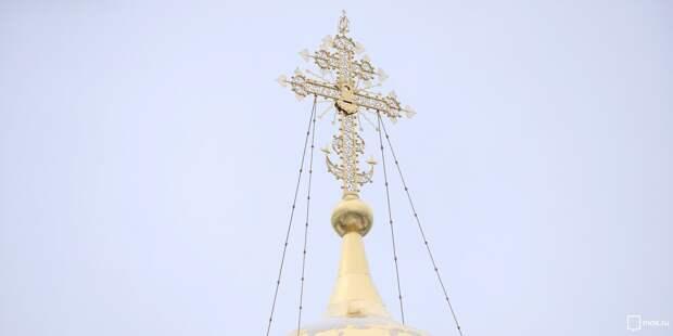 Патриарх Кирилл удостоил настоятеля храма в Новоподмосковном переулке богослужебными наградами