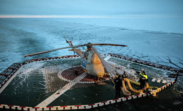 «Арктика» принадлежит России? Не на этой планете…