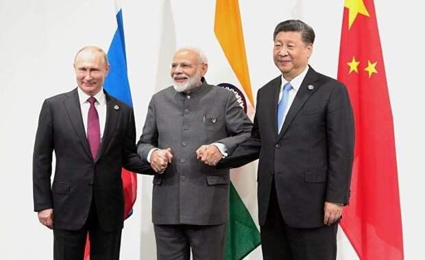 SCMP: может ли Россия встать на сторону США и Индии против Китая?