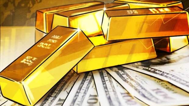Дешевый доллар делает золото более доступным для покупки
