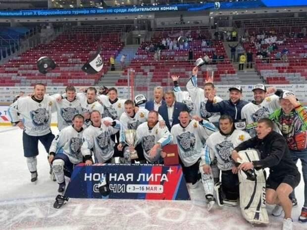 Хоккеисты из Читы впервые в истории выиграли Кубок «Лиги Надежды»