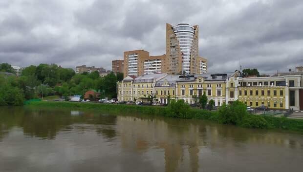 В Подольске продолжают ликвидировать образовавшиеся из‑за ливня подтопления