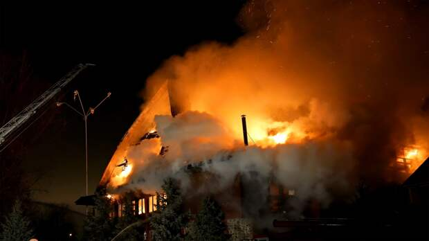 Три человека погибли при пожарах в Удмуртии с начала года