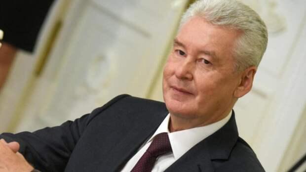 Мэр Москвы Собянин поздравил горожан с Днем Победы